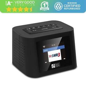 Radio WR828F by Ocean Digital FM Internet WiFi Radio Desktop Alarm Clock