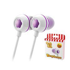 Candy Crush In-Ear Headphones Grape Purple Iphone Smartphone Ipad Earphones
