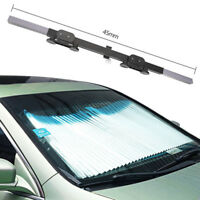 140*45CM Car Retractable Curtain UV Protection Front Rear Windshield Visor Shade