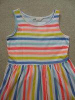 NEW H&M Stripy DRESS  8-9yrs  BNWT  NEXT SUMMER  100% Cotton