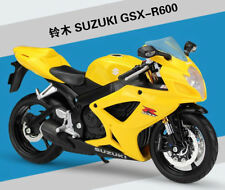 Maisto 1:12 Suzuki GSX-600R Motorcycle Bike Model New