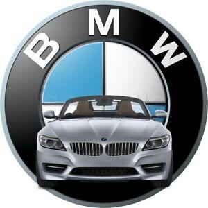 BMW Auto Eßbar Tortenaufleger Party Deko Tortenbild Muffin Geburtstag Cupcake