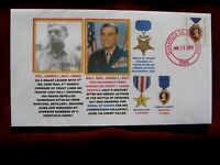 """OKINAWA ,""""SUGAR LOAF HILL""""  WWII  HEROIC MARINE JAMES L. DAY,  (PVT. TO GENERAL)"""