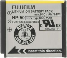 Fujifilm NP-50 Lithium Ion Rechargeable Battery for Fuji F60fd, F50fd & F100fd D