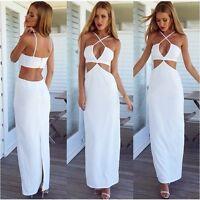Love Indie Swift Ladies Womens White Full Length Dress Wedding Bridesmaid Formal