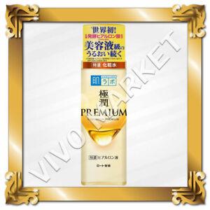 Japan ROHTO hadalabo Gokujyun PREMIUM Hyaluronic Acid Super Moist Lotion 170ml