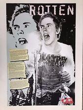 Sex Pistols,Johnny Rotten,Punk, 2002 Poster