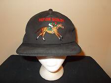 VTG-1990s Western Saddlery Horse Jockey Equine Equipment snapback hat sku21
