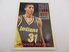 Carte NBA TOPPS 1993-94 #133 Reggie Miller Indiana Pacers