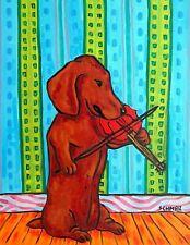 basset hound trio  art PRINT animals impressionism dog prints 11x14