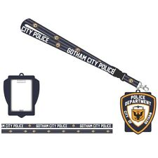 Batman Gotham City Police Department Dc Comics ID Badge Holder Keychain Lanyard