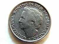 1948 Netherlands Ten (10) Cent Coin