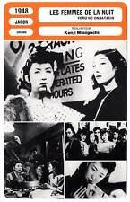 FICHE CINEMA : LES FEMMES DE LA NUIT - Kenji Mizoguchi 1948 Fallen Women