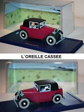 atlas-tim et struppi-tintin car-coupé spider-l` Oreille cassee-vitrine-very RARE