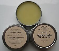 The Elder Herb Shoppe Arnica Salve with Pure Emu Oil 1 oz. 100% Natural