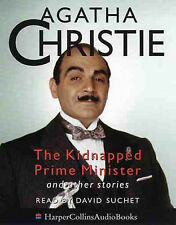 Agatha Christie - The Kidnapped Prime Minister - (Audio Book 1999) - FREE POST**