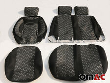 WINGS Schonbezüge Sitzbezüge (schwarz-grau)VW T4 / LT / T5 / T6 CRAFTER 2+1