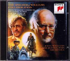John WILLIAMS & SPIELBERG Indiana Jones Jaws Always Empire of the Sun ET 1941 CD