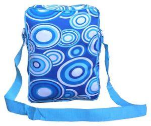 Shoulder Ladies Art Design Travel Hand Ladies Shoulder Bag New Retro Funky Blue