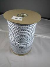 """1/4""""x300' Wht/Blue Marine Grade Bungee Cord Made in USA"""
