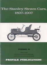 Stanley Steam Cars 1897-1907 Profile Publication No.55 12 page colour booklet
