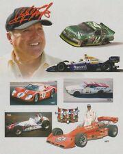 """2001 A.J. Foyt """"A.J. Foyt Enterprises"""" Indy Car NASCAR postcard"""