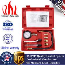 Auto Motor Engine Cylinder Pressure Gauge Diagnostic Tool Compression Tester Kit