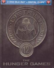 BLURAY STEELBOOK - THE HUNGER GAMES - 2 Disc Set - Jennifer Lawrence - BRAND NEW