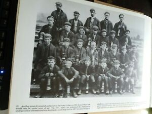Denby Colliery Derbyshire,  Miners Print, Mounted ready to Frame