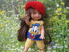 shelly kelly barbie tommy Puppenkleider Puppenstube Handarbeit Unikat Nr. 28