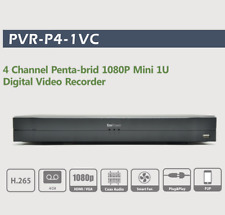 Dahua Oem 4 Ch Dvr Penta-brid 1080P Mini 1U Digital Video Recorder Ivs Hdcvi Us