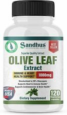 Olive Leaf extract Superior Quality-Immune &Cardiovascular Health 120 Capsules