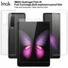 IMAK For Samsung Galaxy Fold, Smooth Full Coverage Soft Screen Protector Film