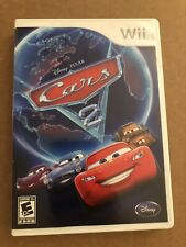 Cars 2: The Video Game (Nintendo Wii, 2011) CIB Tested