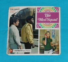 vintage THE MOD SQUAD VIEW-MASTER REELS packet with booklet