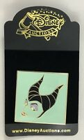 Disney Auctions (P.I.N.S.) 34589-Square Maleficent Face Profile Pin LE 1000 New