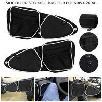 Front Side Door Bags w/ Knee Pad For Polaris RZR 900 XP 4 1000 Turbo S 2014-2020