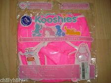 Kooshies Baby Reusable Swim Nappy/Diaper with Top Bright Pink Size 6-11kgs BNIP