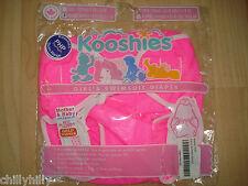 Kooshies Bebé Pañales Reutilizables Natación/rosa brillante del pañal con Top Tamaño 6-11kgs Nuevo
