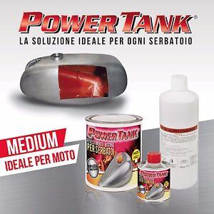 KIT Power Tank medio trattamento serbatoio honda  yamaha suzuki moto d' epoca