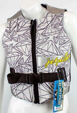 $125 Womens Jet Pilot by Body Glove LUXE Comp Vest Water Ski Jacket Ladies White