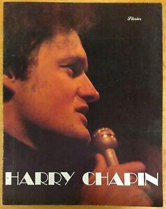 Harry Chapin Living Room Suite 1978 TOUR PROGRAM