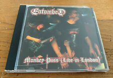 ENTOMBED Monkey puss ( Live in London)  - CD
