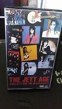 Joan Jett and the Blackhearts VHS The Jett Age Runaways punk rock RARE