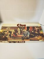 vintage 1970s parker brothers clue detective board game 100%complete  no.45 used