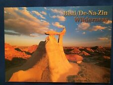 Bisti Badlands De Na Zin Wilderness Rock Formations Postcard New Mexico