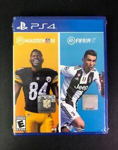 EA Sports 19 Bundle FIFA & NFL for PlayStation 4 MADDEN 19–FIFA 19 PS4