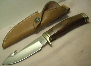 1992~BUCK KNIVES~ZIPPER~MODEL 191~HUNTING & SKINNING KNIFE w/ORIGINAL SHEATH~