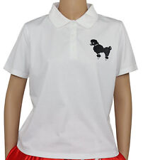 New 50s Style White Poodle Shirt _ Adult Size LARGE