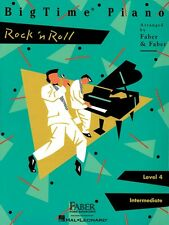 BigTime Rock 'n' Roll Level 4 Faber Piano Adventures Book NEW 000420138